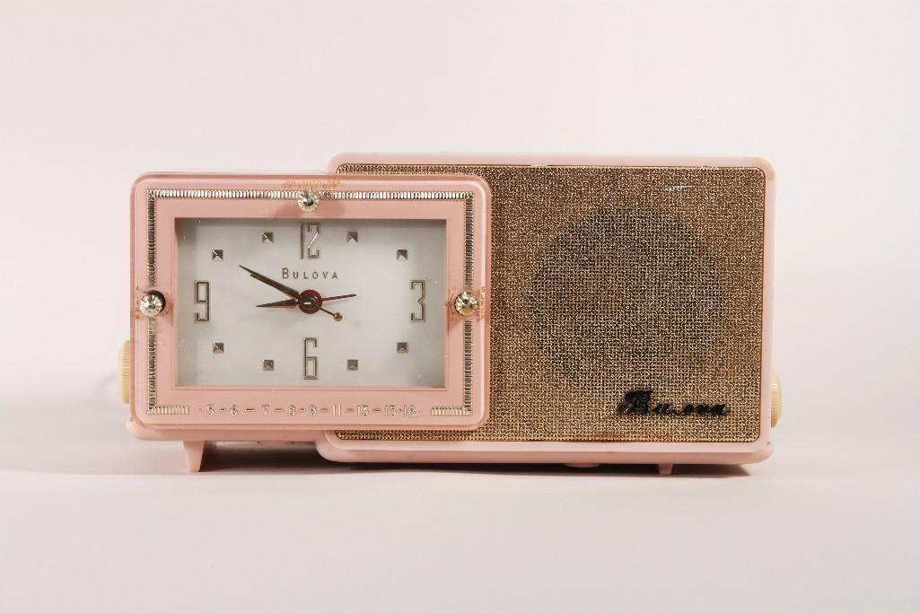 Vintage Bulova Clock Radio