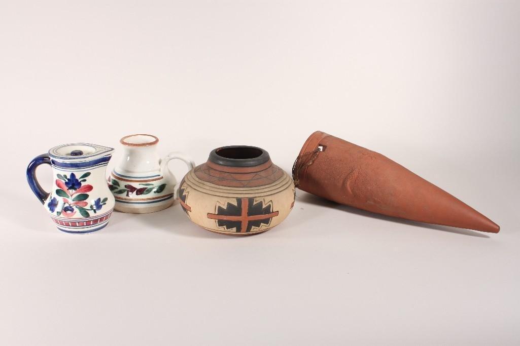 Pottery Assortment (4)