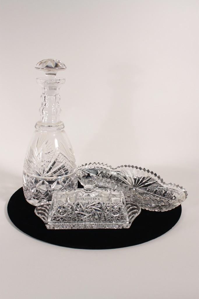 Crystal Serving Pieces (3)