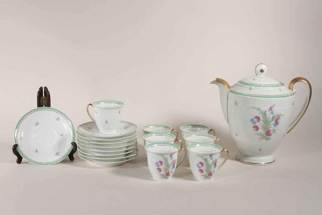 Limoges China Tea Set (17)