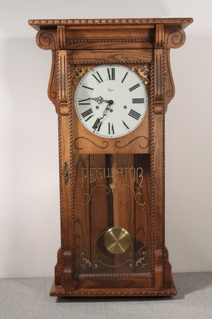 Colonial Regulator Wall Clock
