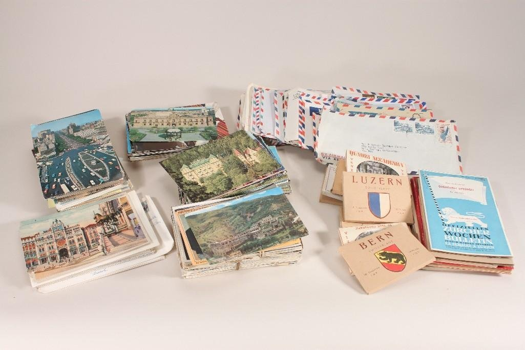 Vintage Post Cards, Stamps, and Ephemera