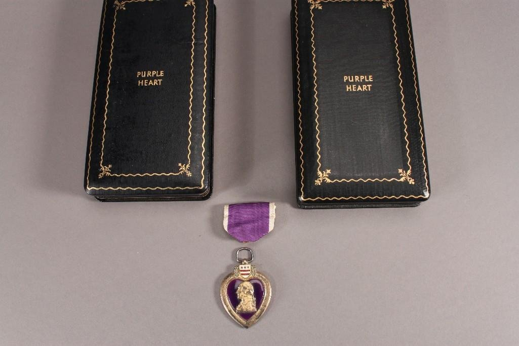 Military Purple Heart  Medals (3)