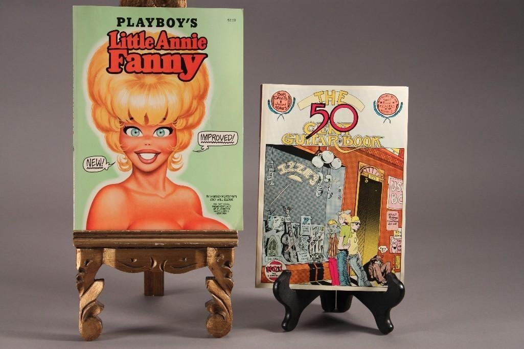 Playboy's Little Annie Fanny and 50 Cent Guitar Comic