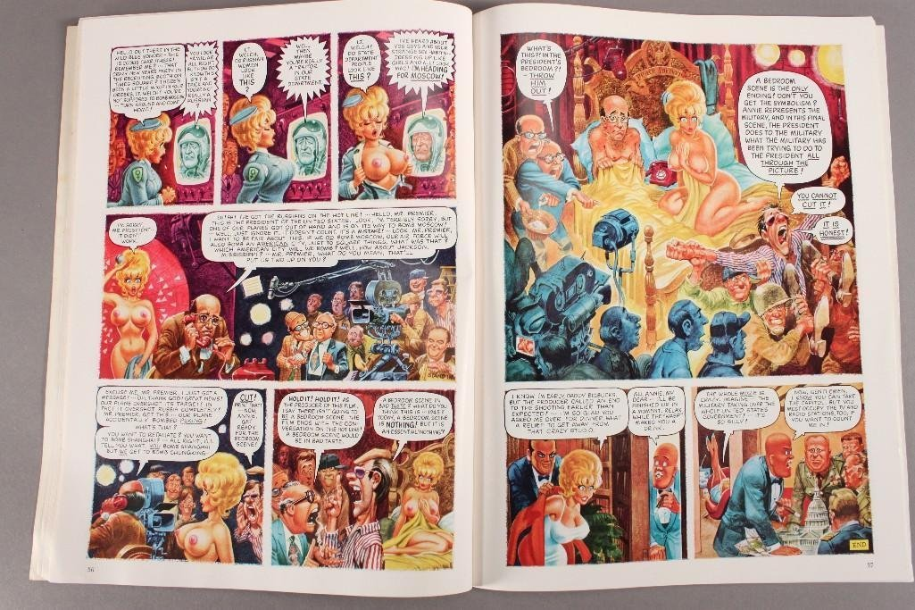 Playboy's Little Annie Fanny and 50 Cent Guitar Comic - 3