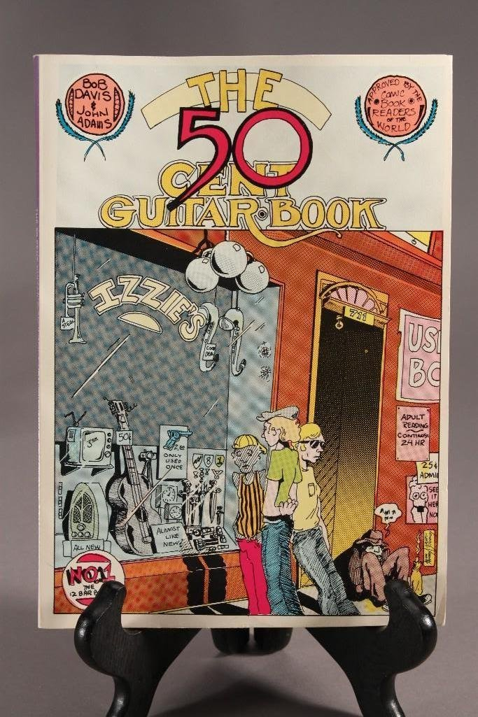 Playboy's Little Annie Fanny and 50 Cent Guitar Comic - 5