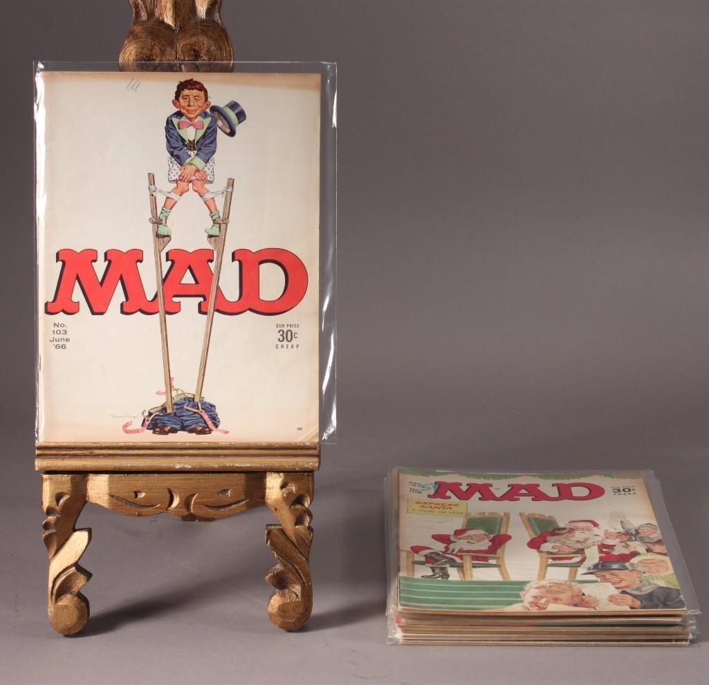 1960's Mad Magazines (9)