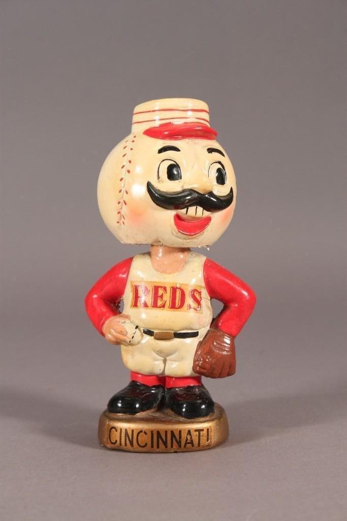 Vintage Cincinnati Reds Bobbleheads/Nodders (2) - 2
