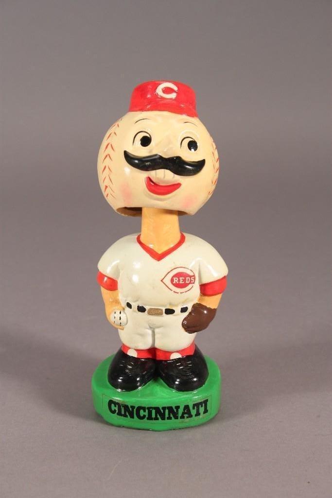 Vintage Cincinnati Reds Bobbleheads/Nodders (2) - 4
