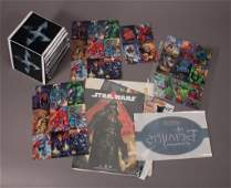 Comic Book and Card Game Advertisments