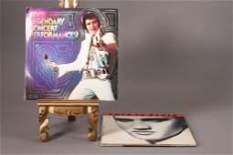 Elvis Presley Vinyl Records (3)
