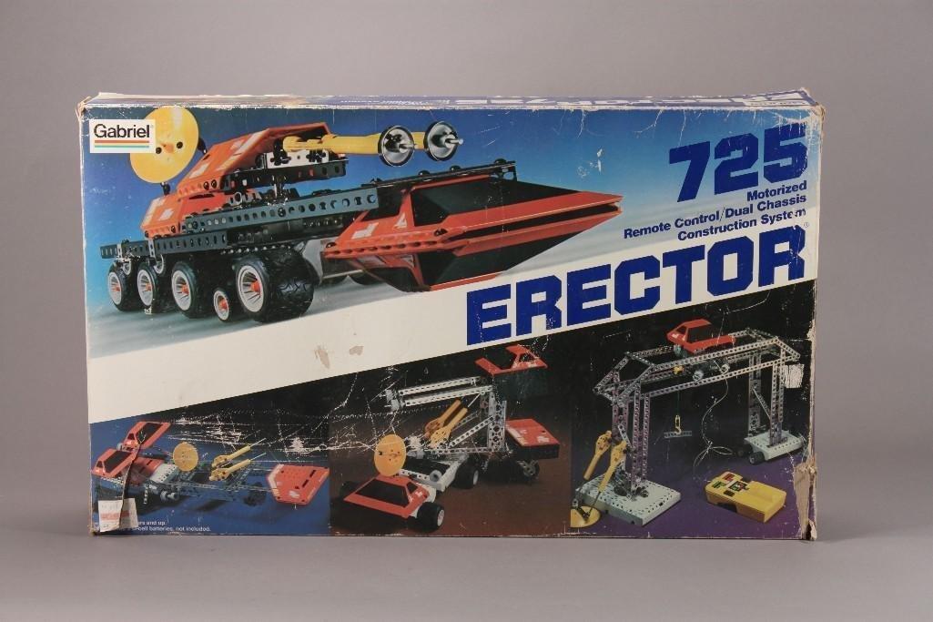 Vintage Gabriel Erector 725 Set
