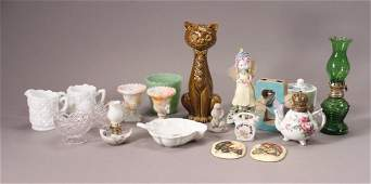 Vintage Collectibles and Oil Lamps