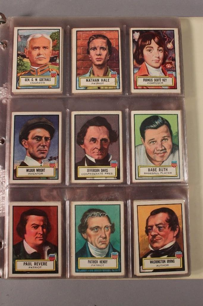 1952 Topps Look n See Trading Card Set