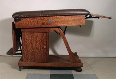 W.D. Allison Co. Antique Physicians Table