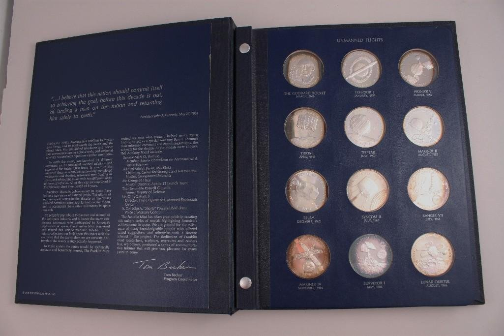 America in Space Sterling Silver Proof Set