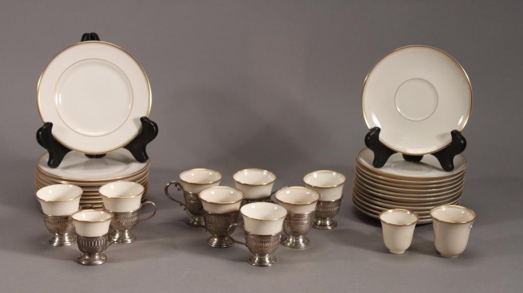 Sterling & Porcelain Tea and Dessert Sets (43)