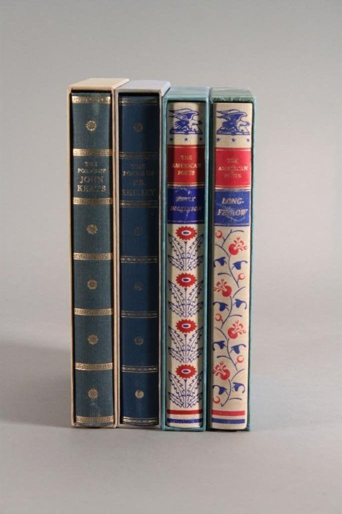 Vintage Poetry Books (4)