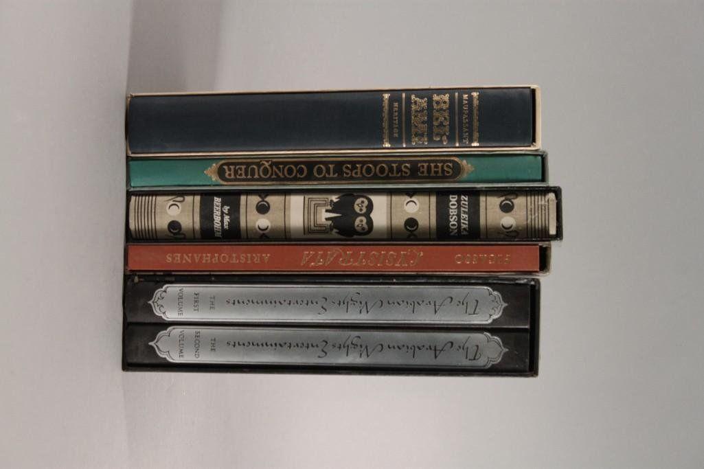 Vintage Hard Cover Books (5)
