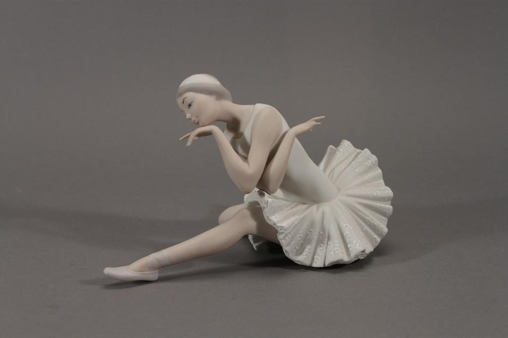 Lladro Death of a Swan No. 4855