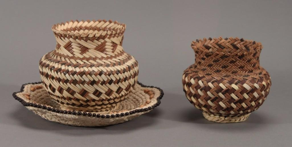 Hand Made Woven Baskets (3)