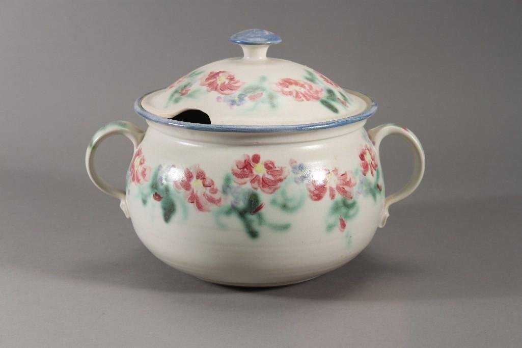 Hand painted soup tureen