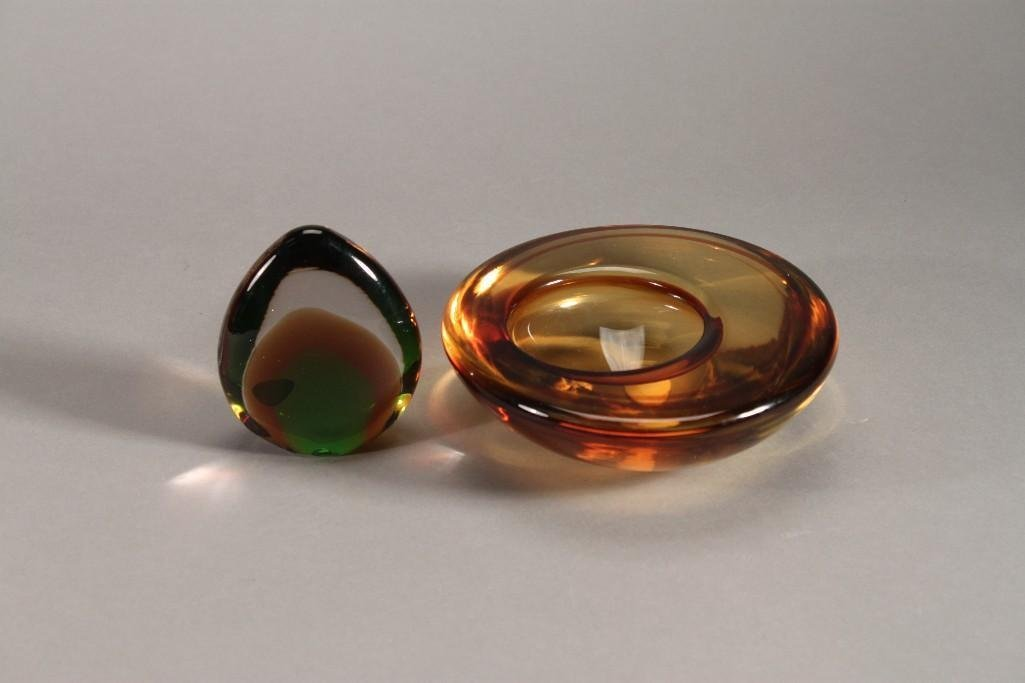 Decorative Blown Art Glass (2)