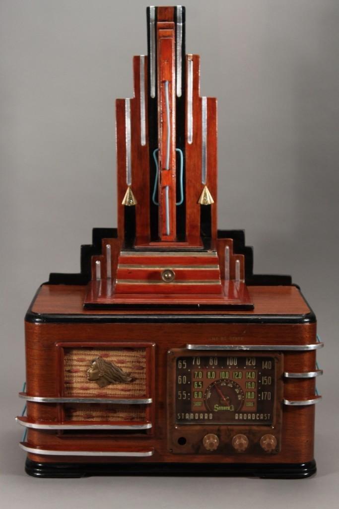 Vintage Embellished Sonora Radio