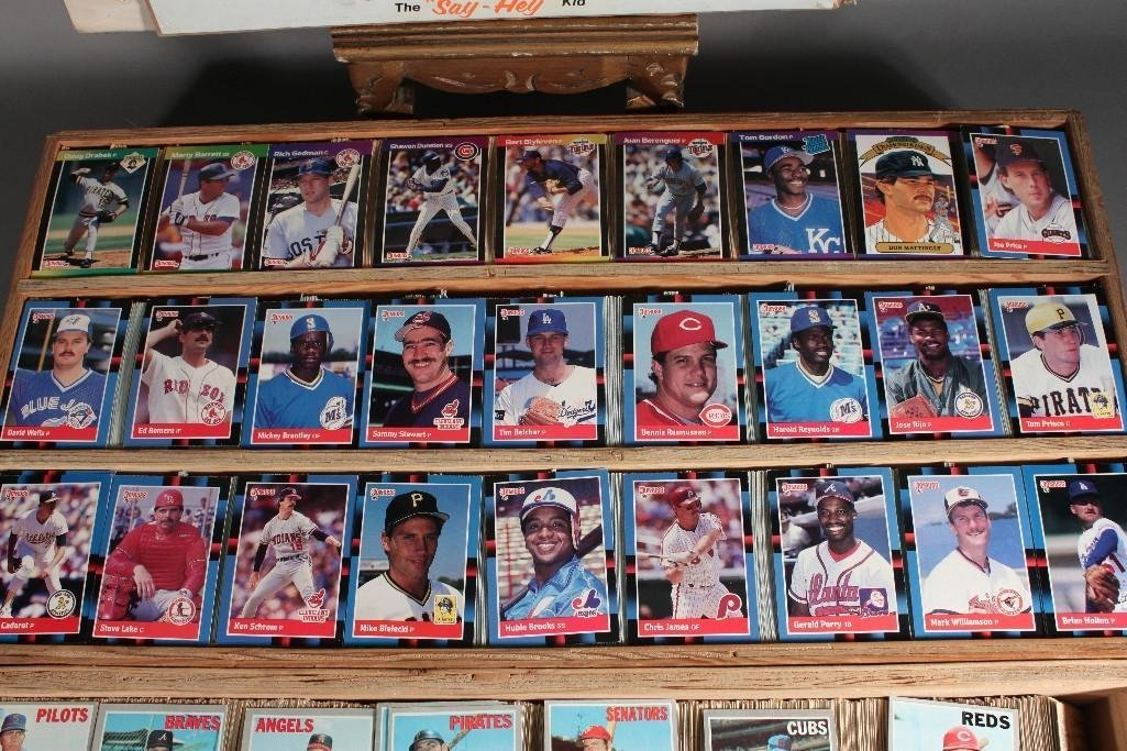 Collector Cards and Signed Willie Mays Poster - 2