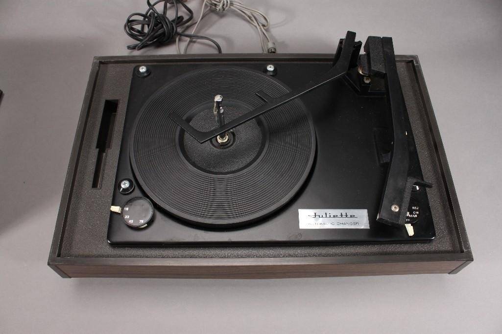 Vintage Juliette Automatic Changer Record Player - 3
