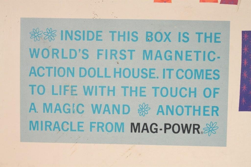 Vintage Mary Mag-Powr's Magic Doll House - 10