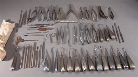 Vintage Dental Instruments (50+)
