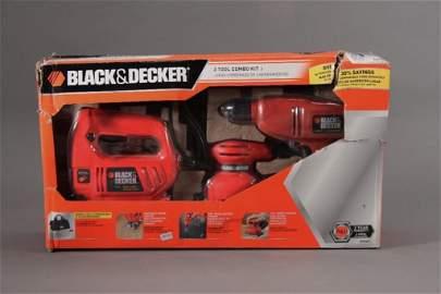 Black and Decker three Tool Combo Kit