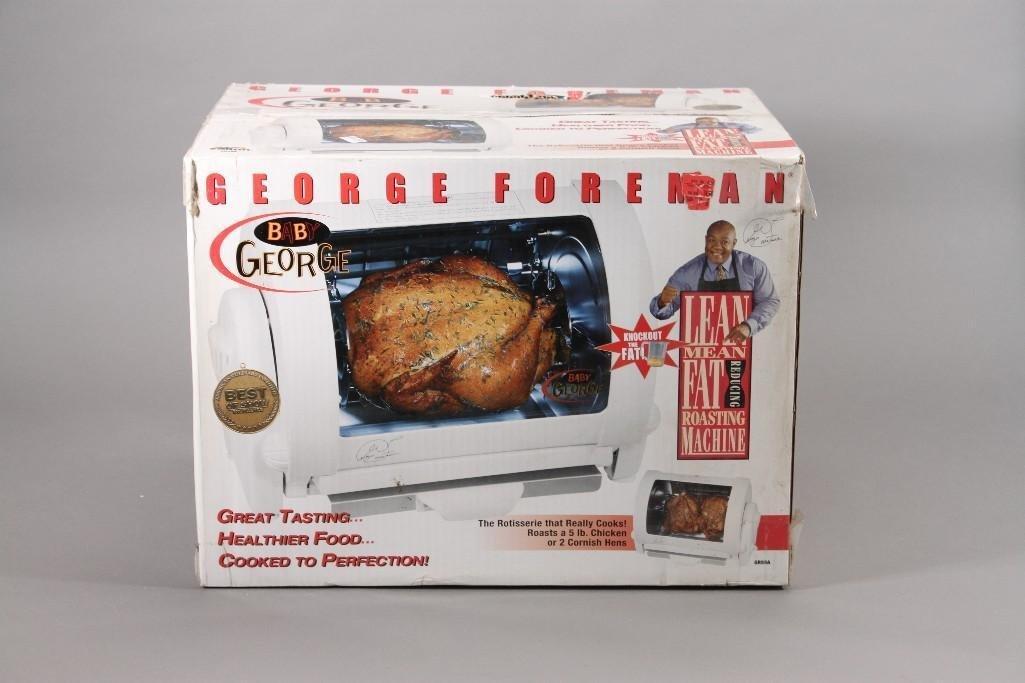 George Foreman Rotisserie Roaster