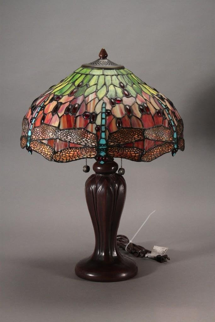 Dale Tiffany Hanginghead Dragonfly Lamp