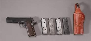 1915 yr,  Colt .45 Semi-Automatic Handgun (6)