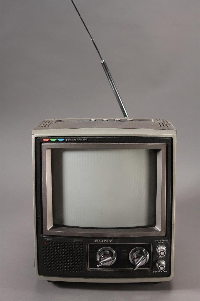 Vintage Sony Trinitron Television - 2
