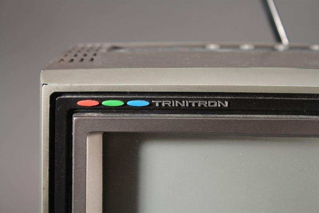 Vintage Sony Trinitron Television - 4