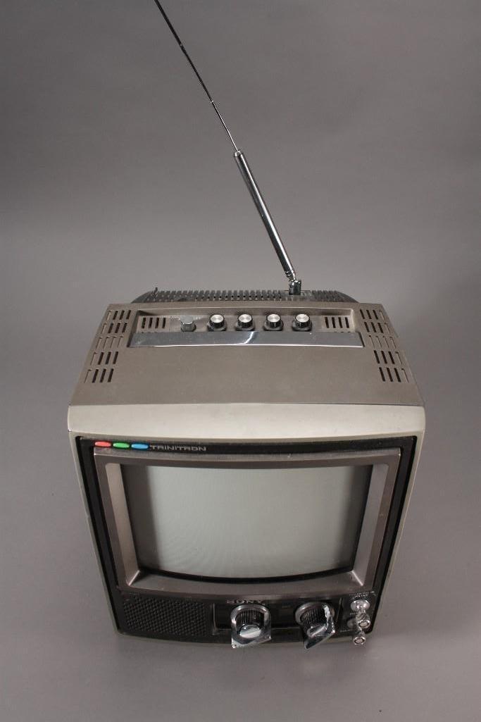Vintage Sony Trinitron Television - 5