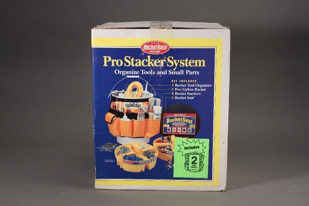 Bucket Boss Pro Stacker System