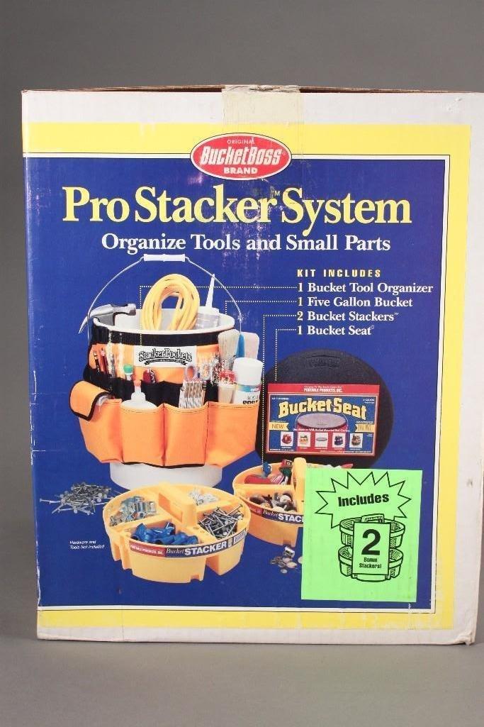 Bucket Boss Pro Stacker System - 2