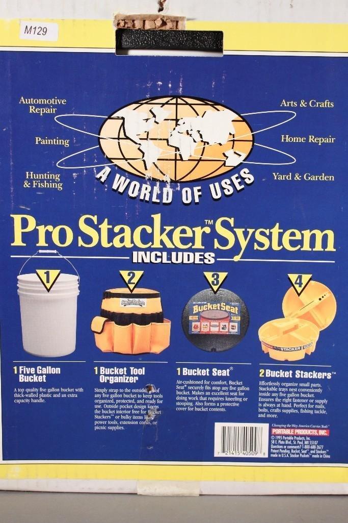 Bucket Boss Pro Stacker System - 3