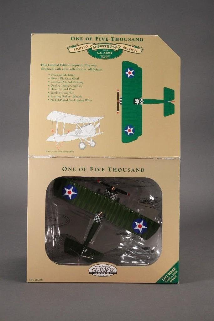Gearbox US Army 1917 Sop with Pup 1/32 Diecast Metal