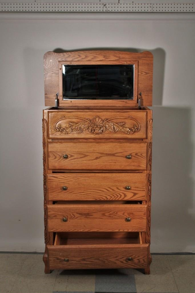 Summit Furniture 5 Drawer Tall Boy Dresser - 4