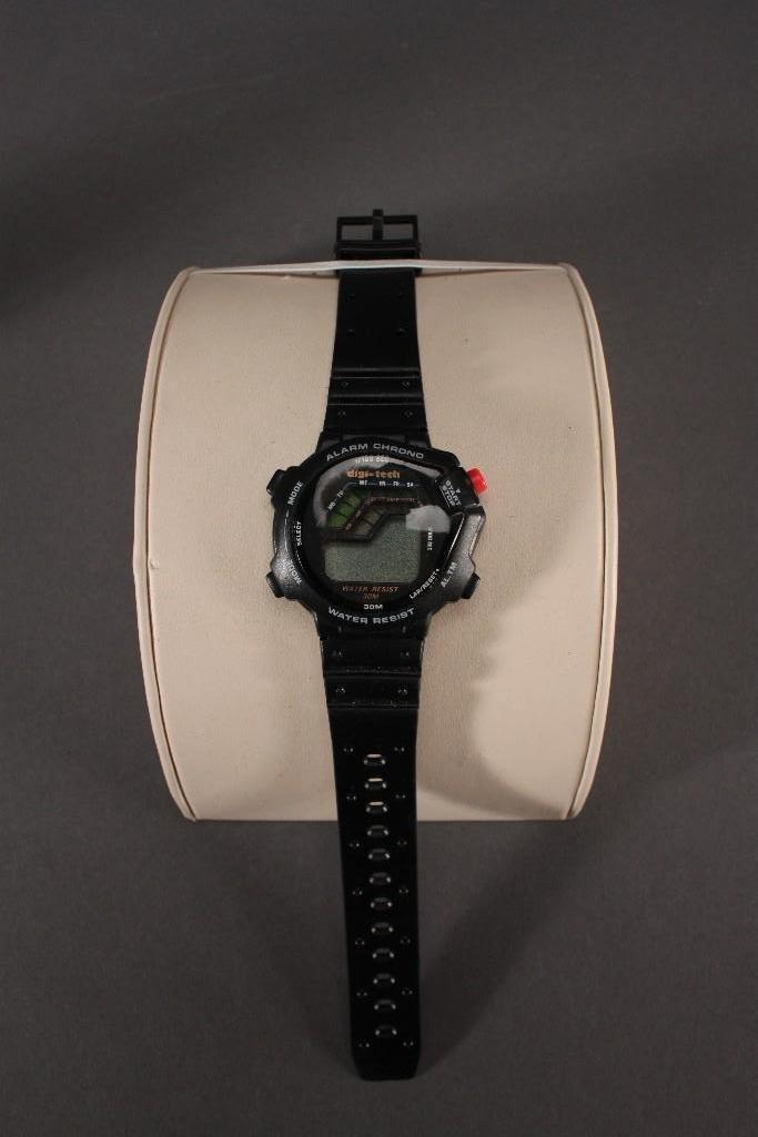 Banner Lighter and Digi-Tech Wrist Watch - 2
