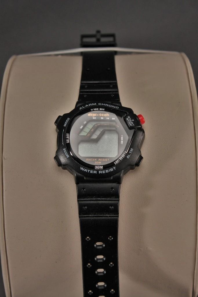 Banner Lighter and Digi-Tech Wrist Watch - 3