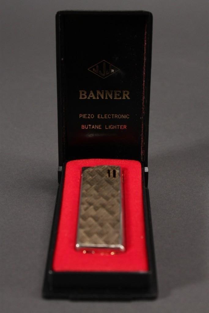 Banner Lighter and Digi-Tech Wrist Watch - 8