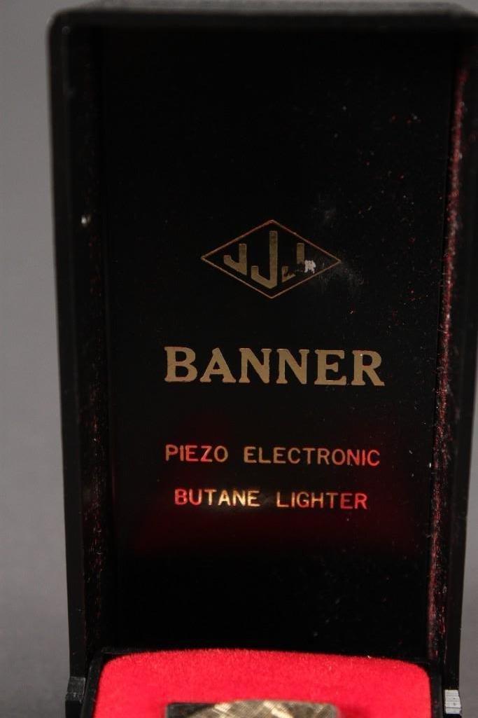 Banner Lighter and Digi-Tech Wrist Watch - 9