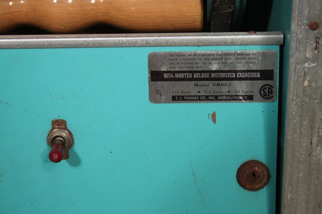 Vintage Vita Master VMRL-1 Roller Massager - 4