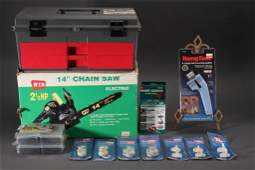 Chain Saw, Tool Chest & Accessories
